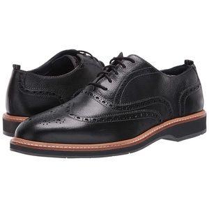 Cole Haan Morris Wingtip Brogue Black Shoes 10.5